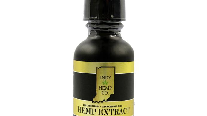 Indy Hemp Company 1500mg Tincture-Full Spectrum <0.3%THC-Natural Flavor