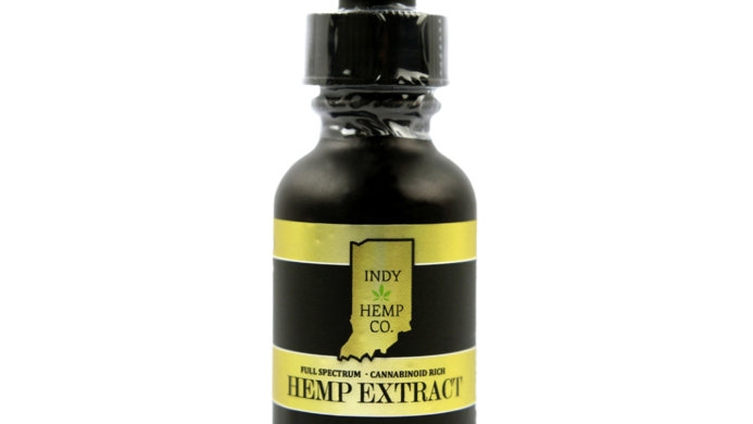 Indy Hemp Company 3000mg Tincture-Full Spectrum <0.3%THC-Natural Flavor