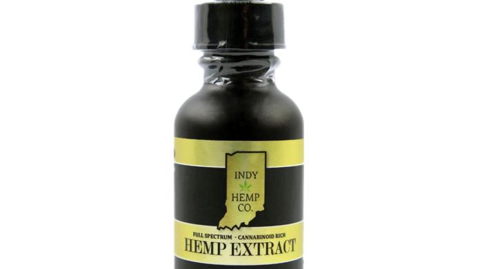Indy Hemp Company 500mg Tincture-Full Spectrum <0.3%THC-Natural Flavor