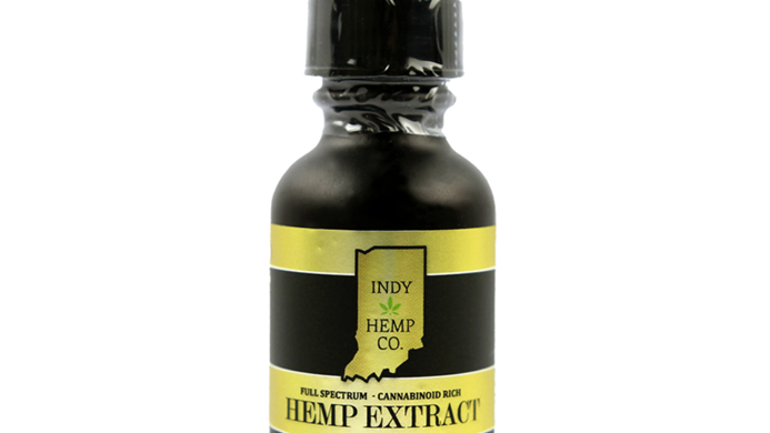 Indy Hemp Company 1000mg Tincture-Full Spectrum <0.3%THC-Natural Flavor