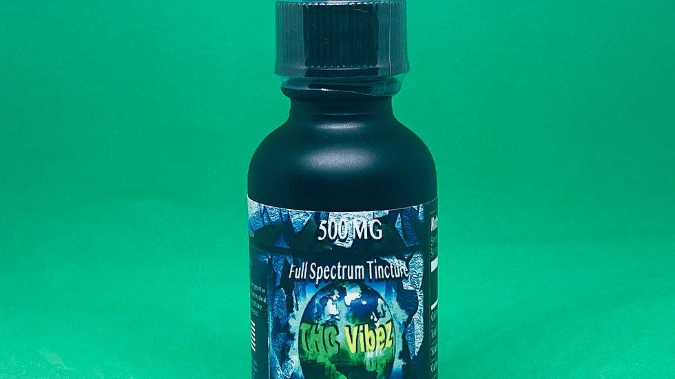 THC Vibez 500 Mg CBD Tincture  <0.3%THC