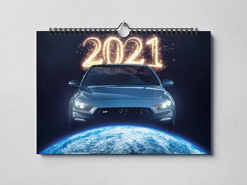 Hyundai i30N Kalender 2021