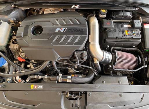 Carbon Domstrebe für den i30N - Perfekt für die Rennstrecke?