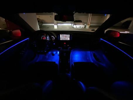 Ambiente und Fußraumbeleuchtung im i30N - So wird auch die Nacht zum Highlight!
