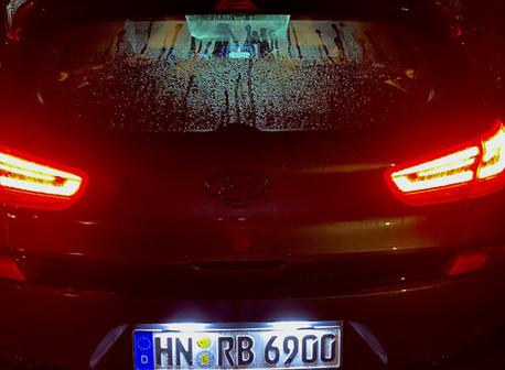 i30N LED Kennzeichenbeleuchtung