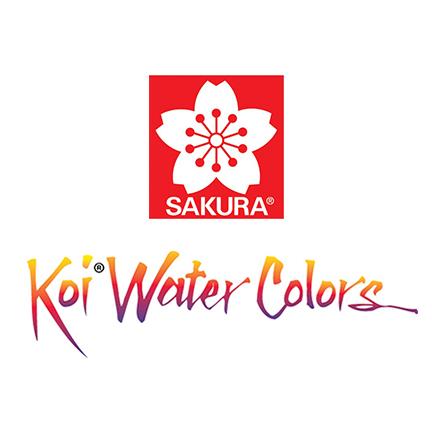 sakura koi watercolor