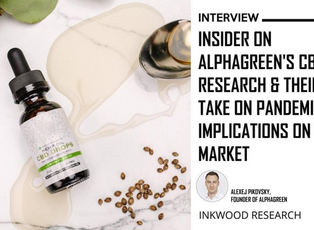 InkInterview: Insider On Alphagreen's Cbd Research & Their Take On Pandemic's Implications On The Ma