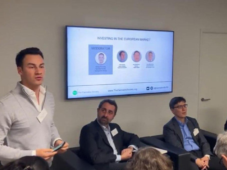 Honored to moderate a Cannabis investment panel with London's leading players at The Cannabis Societ