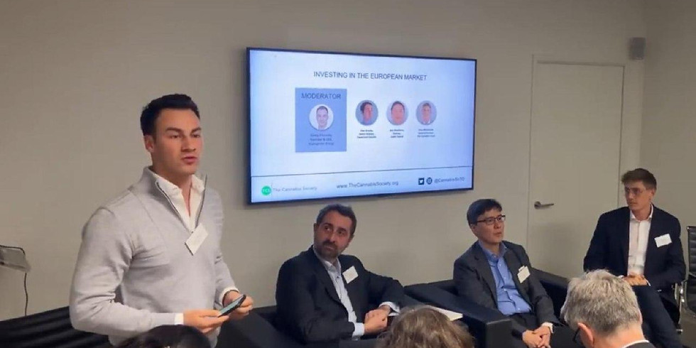 Honored to moderate a Cannabis investment panel with London's leading players at The Cannabis Society