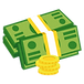 —Pngtree—money clipart banknotes coins c