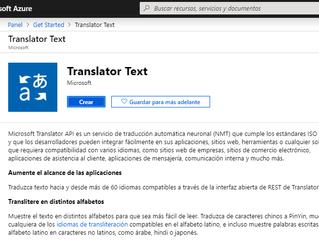 La API de Microsoft para OmegaT