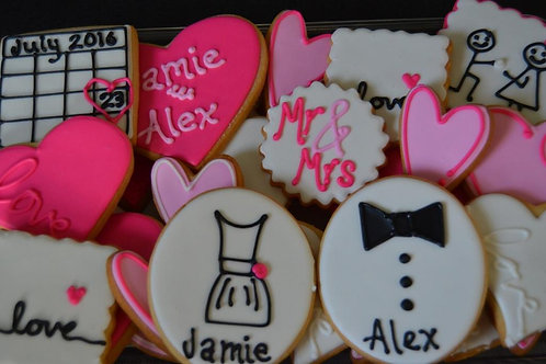 Special Order 2 1/2 Dozen Decorated Cookie Tray