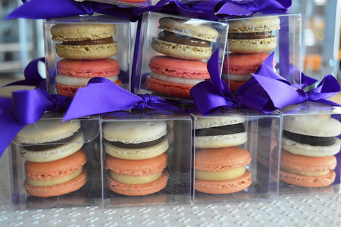 French Macaron Favors Box