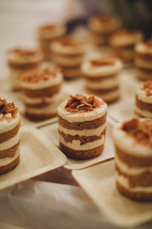 6 Individual Layer Cakes - Same Flavor