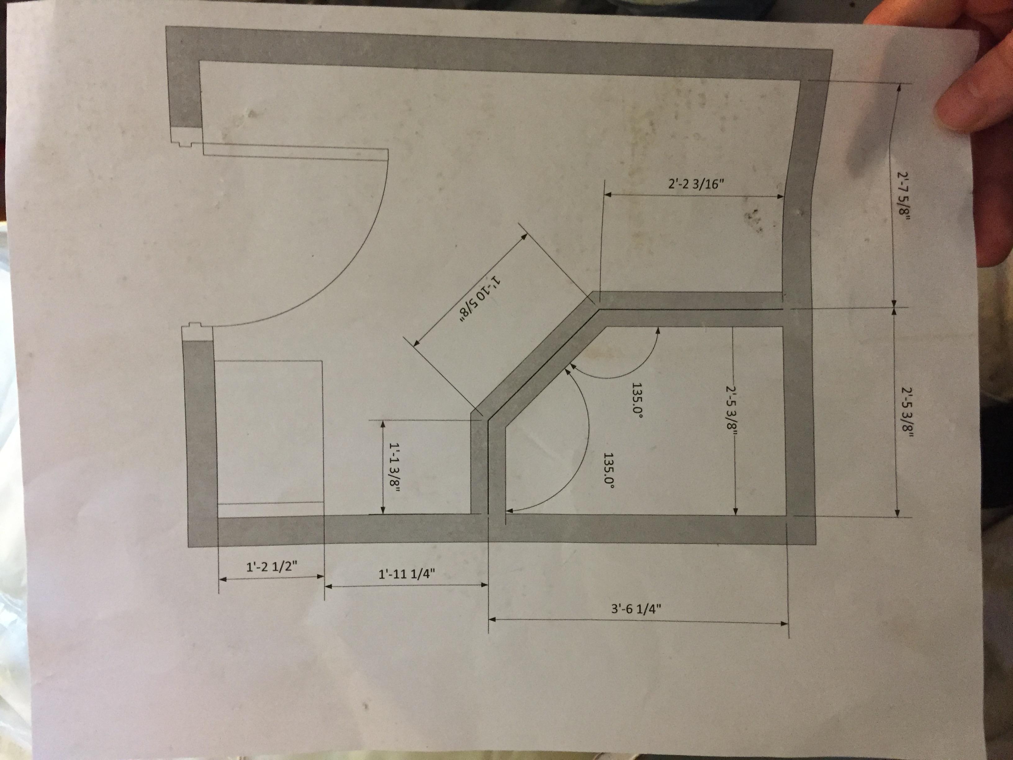 McLean Bath Remodel 2- The Plan