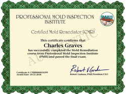 Mold Remediator Certification
