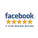 5 stars on facebook!