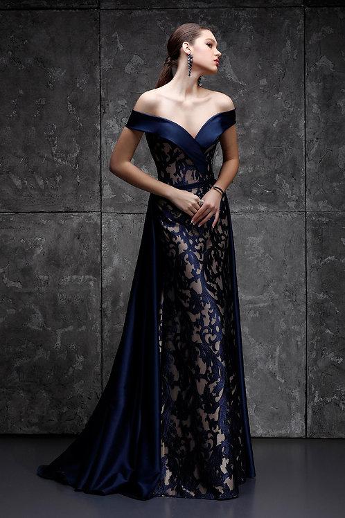 Выпускное платье годе