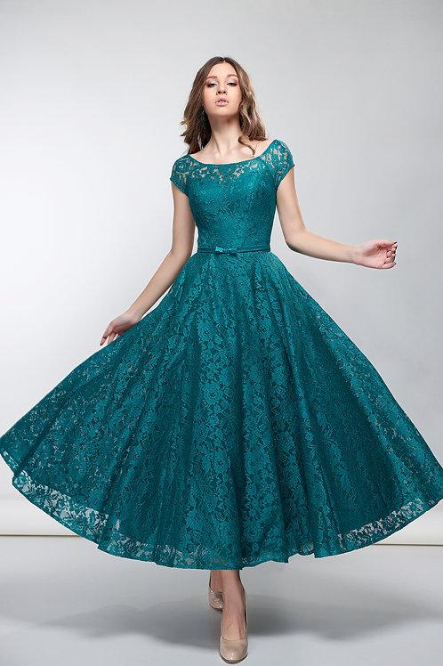 Выпускное платье миди