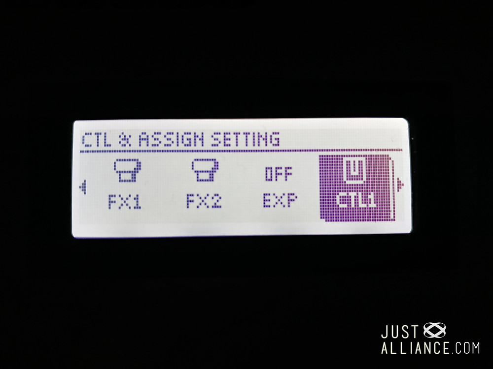 2. Scroll to 'CTL' (Control)