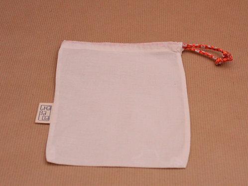 sac à vrac, couture fait main, zéro déchets