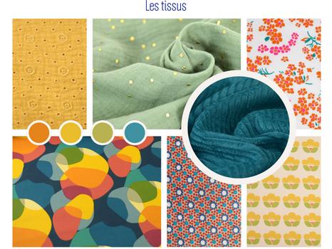 Chabada c'est un panel de tissus colorés, à motifs, graphiques... Ce sont des tissus certifiés OEKO-TEX* & BIO. Je travaille le double gaze pour sa légèreté et son élégance. Le velours côtelé pour son côté vintage mais tant contemporain. Le tissu enduit pour travailler des objets imperméables. Mais aussi des cotons de différentes compositions comme le popeline, le cretonne, le 100% coton...  *Oeko-Tex est un label de qualité comprenant plusieurs normes techniques, visant à certifier les qualités sanitaires et écologiques des textiles et cuirs, en garantissant l'absence de produits toxiques pour le corps et pour l'environnement.