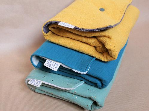 Tapis à langer nomades, tissu oeko tex, artisanat, couture fait-main, collection bébé et enfant