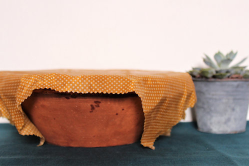 Bee wrap, éco responsable, cire bio, alternative film plastique, chabada, tissu oeko tex