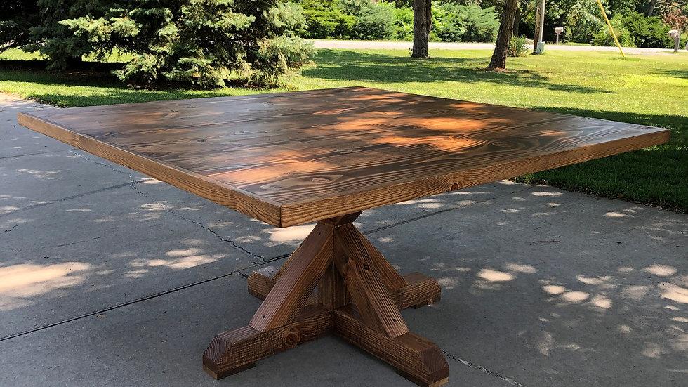 Archer Pedestal Table