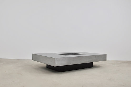 Coffee Table in the Style of Willy Rizzo, 1970s
