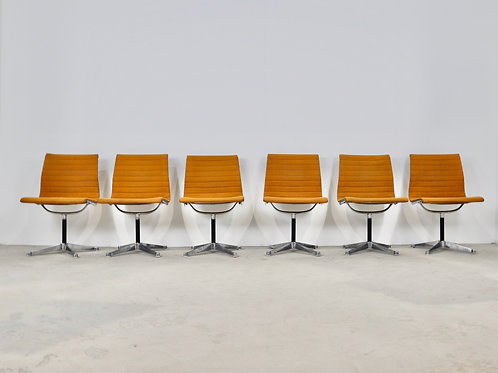 EA108 Chairs by Charles&Ray Eames For Herman Miller , 1970S