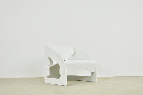Model 4801 Easy Chair by Joe Colombo for Kartell, 1960s