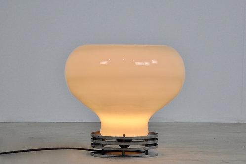 Italian Opaline lamp 1970S