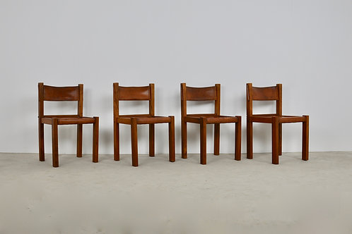 Chair in the Style of Pierre Chapo 1970S