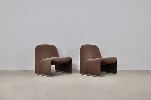 Alky Chair by Giancarlo Piretti for Anonima Castelli, 1970s set 2