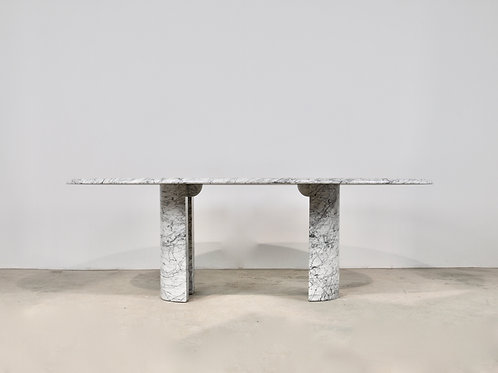 Marble Dining Table, Maison Charles 1970S
