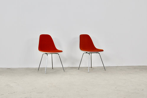 Dining Chairs by Charles and Ray Eames for Herman Miller 1960S