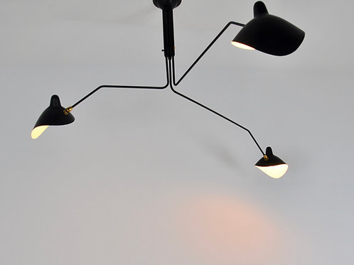 Serge MOUILLE Suspension with three pivoting arms - 1958