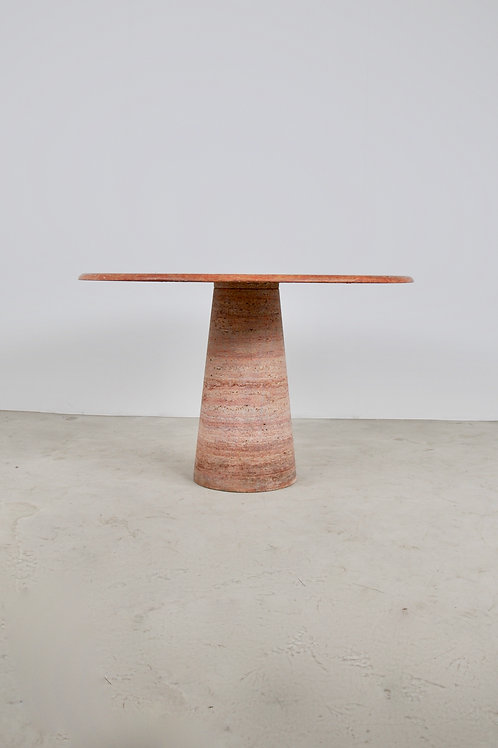 Travertine Dining Table 1960S