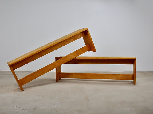 Pair of benches 1960S