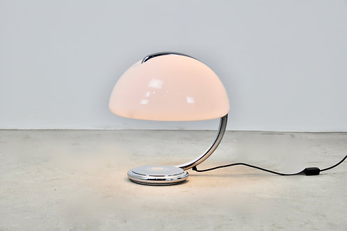 Serpente Table Lamp by Elio Martinelli for Martinelli Luce, 1960s