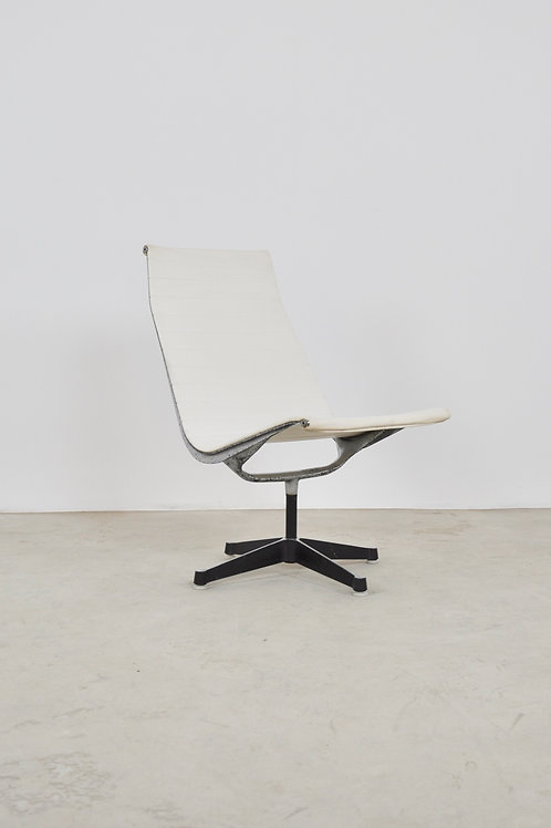 White Office Armchair by Charles & Ray Eames for Herman Miller 1970S