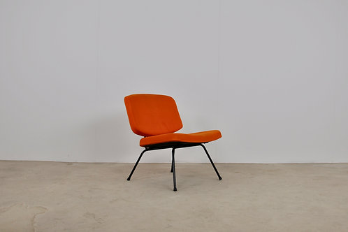 CM 190 Low Chair by Pierre Paulin for Thonet 1950S