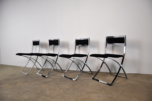 Folding Chairs by Luisa for Marcello Cuneo, Set of 4