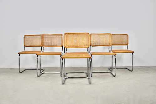 Dinning Style Chairs B32 By Marcel Breuer set6