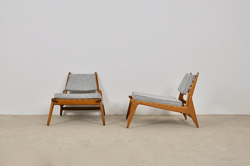 French Lounge chairs , 1960S set 2