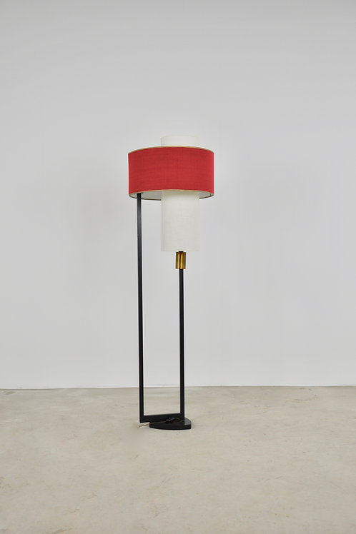 French Floor Lamp from Arlus, 1950s