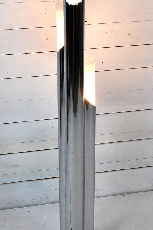 Chrome Tubular Floor Lamp, 1960s