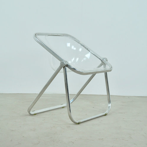 Plona Desk Chair by Giancarlo Piretti for Castelli 1970S