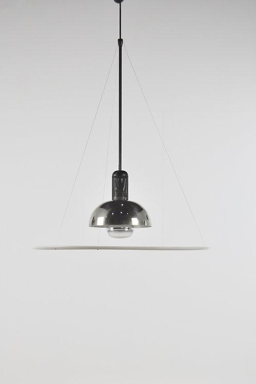 Italian Frisbi 850 Pendant Lamp by Achille Castiglioni for Flos, 1970s